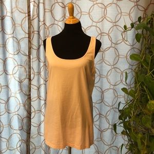 🔥 Old Navy Fitted Blush Tank Top XL Tall NWT